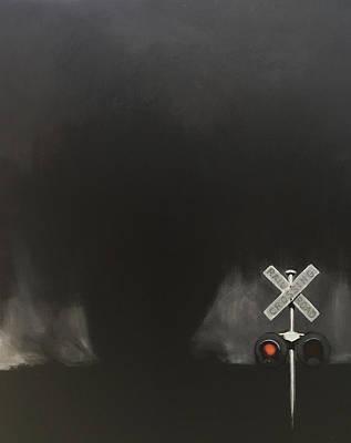 Like A Freight Train Art Print by Jeffrey Bess