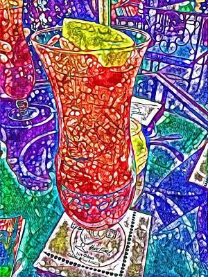 Digital Art - Like A Hurricane by Laurie Williams