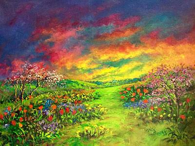 Painting - Like A Rainbow They Were by Randol Burns