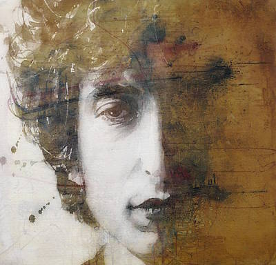 Bob Dylan Mixed Media - Like A Rolling Stone  by Paul Lovering