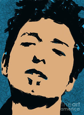 Bob Dylan Drawing - Like A Rolling Stone by Robbi  Musser