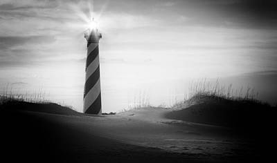 Cape Hatteras Lighthouse Photograph - Like A Star by Bernard Chen