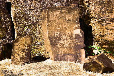 Thomas Kinkade - Like Ancient Graffiti  by Jeff Swan
