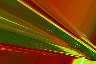 Abstract Digital Photograph - Like An Arc Of Light by Jeff Swan