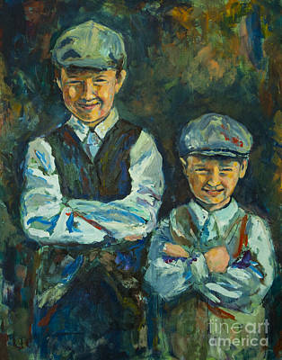 Painting - Durham Boys by Angelique Bowman