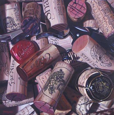Napa Valley Vineyard Painting - Like Candy Box by Takayuki Harada