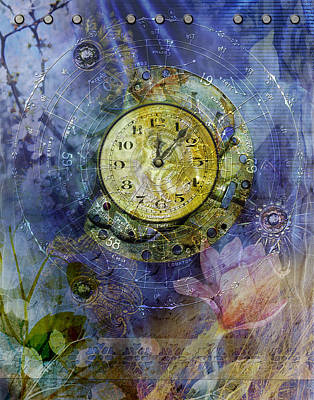 Digital Art - Like Clockwork by Linda Carruth