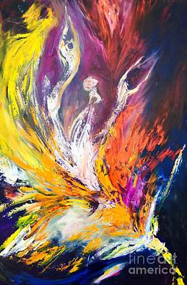 Painting - Like Fire In The Wind by Marat Essex