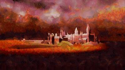 Harry Potter Painting - Like Hogwarts by Esoterica Art Agency