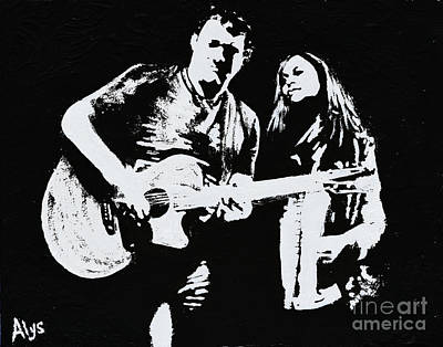 Like Johnny And June Art Print