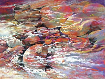 Painting - Like Music Adrift by Rae Andrews