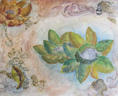 Painting - Like Petals On The Earth by Lesley Atlansky