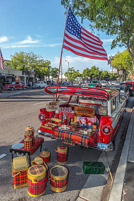 Basket Photograph - Like The 4th Of July by Peter Tellone
