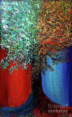 Painting - Like The Changes Of The Seasons by Ania M Milo