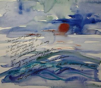 Painting - Like The Waves Of The Sea by B L Qualls