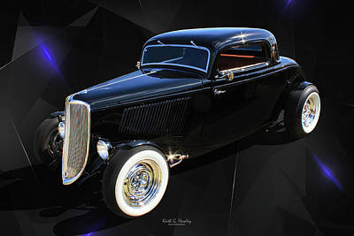 Photograph - Lil Black Coupe by Keith Hawley
