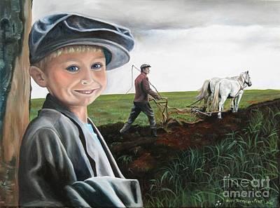 Painting - Lil Lad by Heidi Parmelee-Pratt