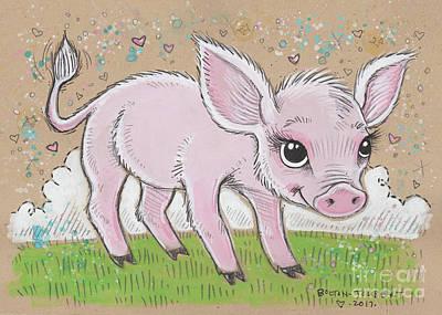 Lil Piglet Original by Maria Bolton-Joubert