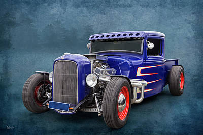 Photograph - Lil Truk by Keith Hawley