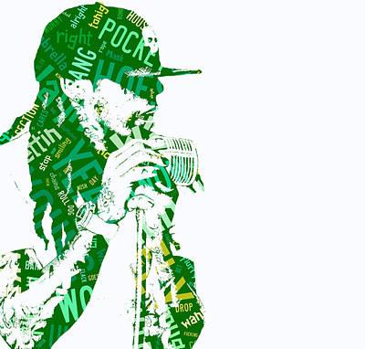 Lil Wayne Got Money Art Print by Marvin Blaine