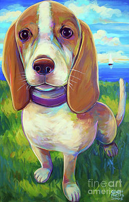 Painting - Lila  by Robert Phelps