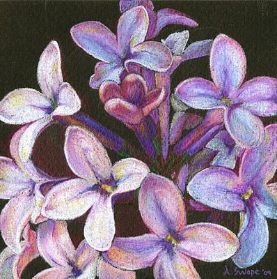Lilac 2 Art Print by Audi Swope