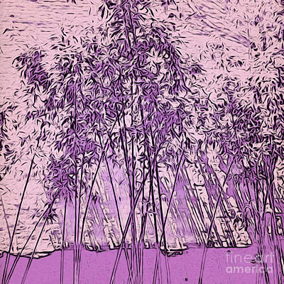 Photograph - Lilac Bamboo Garden by Onedayoneimage Photography