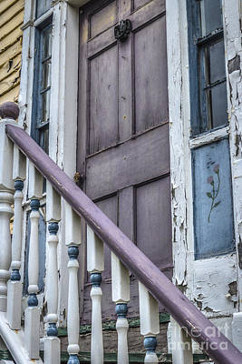 Photograph - Lilac Banister  by Joann Long