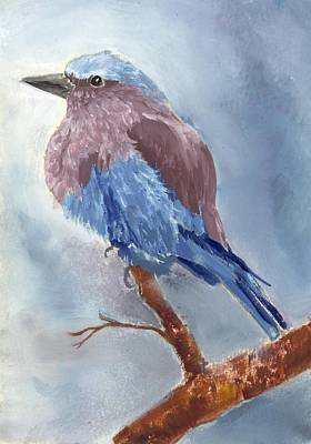 Painting - Lilac Breasted Roller 2 by Ruth Seal