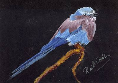 Painting - Lilac Breasted Roller by Ruth Seal