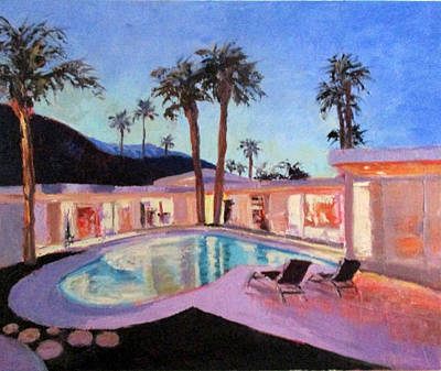 Painting - Lilac Dip by Kathleen Strukoff