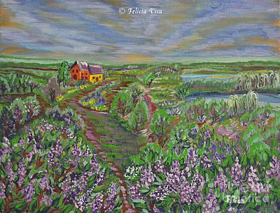 Lilac Garden Original