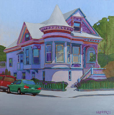 Painting - Lilac House, Alameda by Nancy Roberts