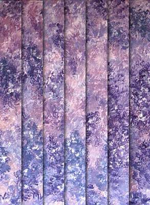 Digital Art - Lilac Panels by Megan Walsh