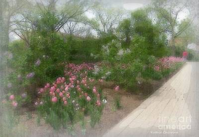 Digital Art - Lilac Park by Kathie Chicoine