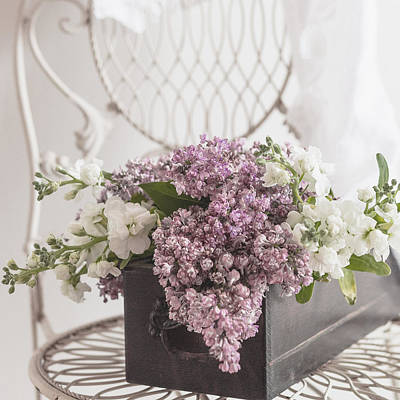 Photograph - Lilacs by Beverly Cazzell