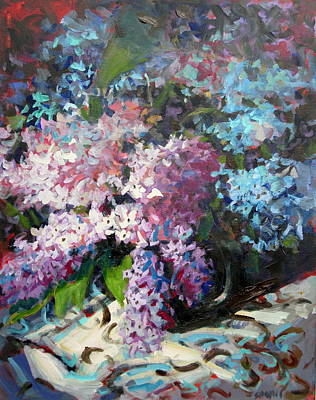 Lilacs Original by Brian Simons