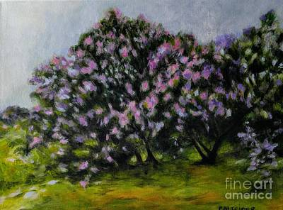 Painting - Lilacs For Alena by Alison Caltrider
