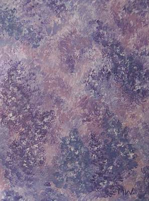 Painting - Lilacs In The Mist by Megan Walsh