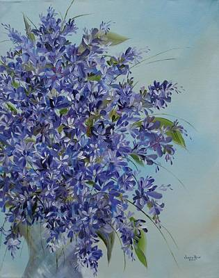 Painting - Lilacs by Judith Rhue