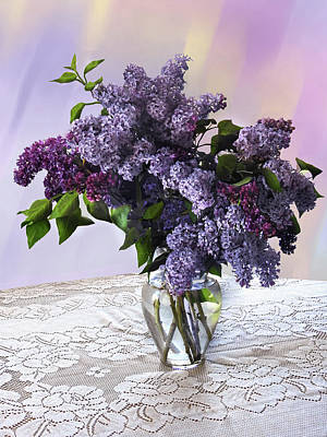 Photograph - Lilacs by Judy Johnson