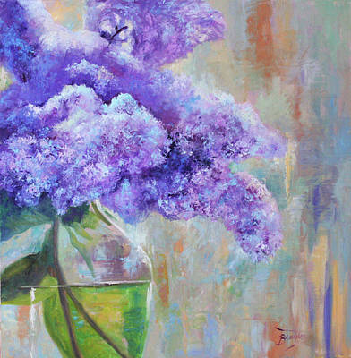 Painting - Lilacs by Julie Brayton
