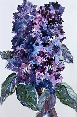 Painting - Lilacs by Mindy Newman