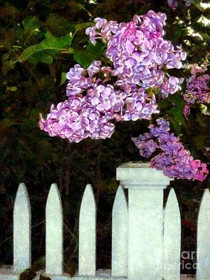 Lilacs - Mother's Day 2 Art Print by Janine Riley