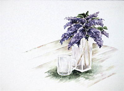 Painting - Lilacs by Renee Goularte