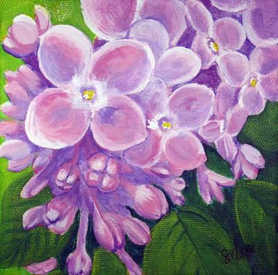 Lilacs Art Print by Sharon Marcella Marston