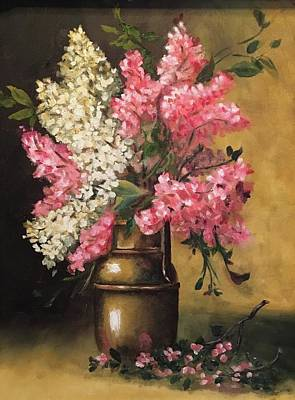 Painting - Lilacs by Sharon Schultz