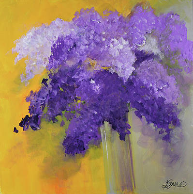 Painting - Lilacs by Terri Einer