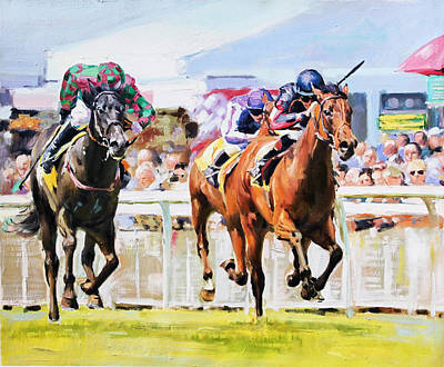 Lilbourne Lad At The Curragh Original by Conor McGuire