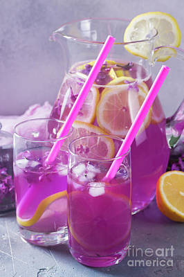 Photograph - Lilca Lemonade Drink by Anastasy Yarmolovich